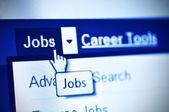 Jobs search — Stock Photo