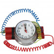 Electronic time bomb — Stock Photo