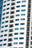 Balconies on Condo Tower on Angle — Stock Photo