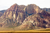 Desert Mountains with Bands of Colors — Stock Photo