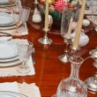 Formal Table Set for Easter — Stock Photo