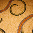 Stock Photo: Old Mosaic Tile Floor Pattern