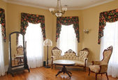 Old Traditional Sitting Room — Stock Photo