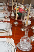 Formal Table Set for Easter — Foto de Stock