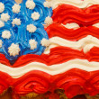 Foto Stock: Fourth of July Cupcakes