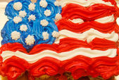 Fourth of July Cupcakes — Foto Stock
