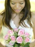 Outdoor Bride — Stock Photo