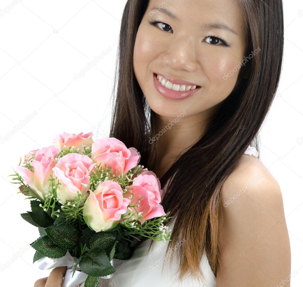 С азиатскими невестами 22 фотография