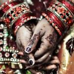 Henna Hands — Stock Photo