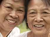 Asian senior woman — Stock Photo