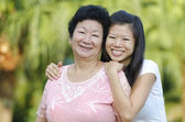 Madre e mi — Foto Stock