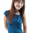 Smiling Asian female — Stock Photo