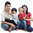 Royalty-Free Stock Photo: Happy Asian family