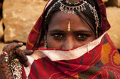 Indian woman — Stockfoto