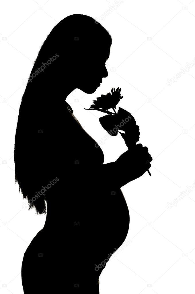 Фотографии черно белые девушек беременных 15 фотография