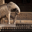 Elephant statue - Stock Photo