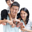 Happy Asian family — Stock Photo #6283434