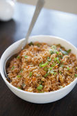 Singaporean fried rice — Stock Photo