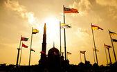 Malajsie mešita putra — Stock fotografie