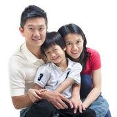 Asya aile — Stok fotoğraf