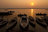 Ganges rivier — Stockfoto