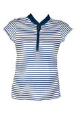Women's casual wear blue stripes — Stock Photo
