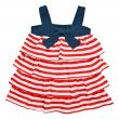 Baby striped dress — Stockfoto