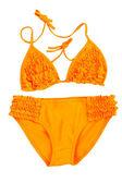 Orange swimsuit — Stock Photo