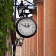Old street clock — Stock Photo #6190773
