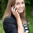 Girl on the phone — Stock Photo #6192433