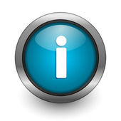 Info button — Stock Photo