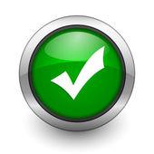 Validation icon — Stock Photo