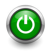 Power icon — Stock Photo