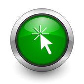 Ícone de cursor — Fotografia Stock