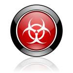 Biohazard icon — Stock Photo #6643983