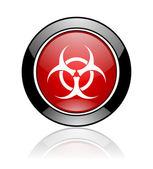 Biohazard icon — Stock Photo