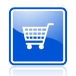 Shopping icon — Stock Photo
