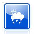 Weather icon - Stock Photo