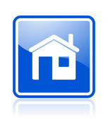 Home icon — Stock Photo