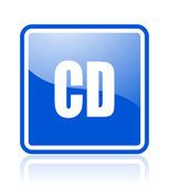 Cd icon — Stock Photo