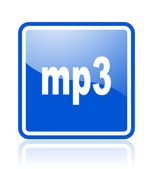 Mp3 icon — Stock Photo