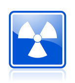Radiation icon — Stockfoto