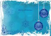 Grunge Christmas card — Stock Vector