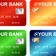Credit cards — Stockvektor #5485577