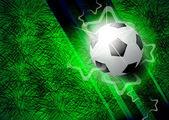 Modern football background — Stock Vector