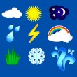 Royalty-Free Stock Vector Image: Weather icon