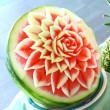 Stock Photo: Watermelon rose