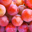 Delicious red grapes — Foto Stock