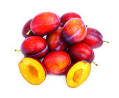 Delicious plums — Stock Photo