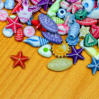 Stock Photo: Beads assortment